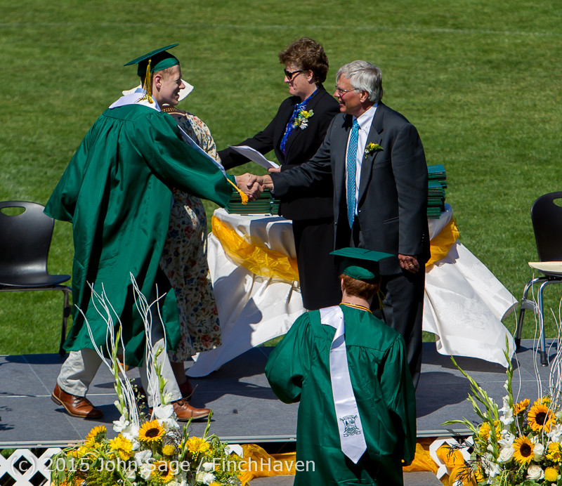 7282 Vashon Island High School Graduation 2015 061315