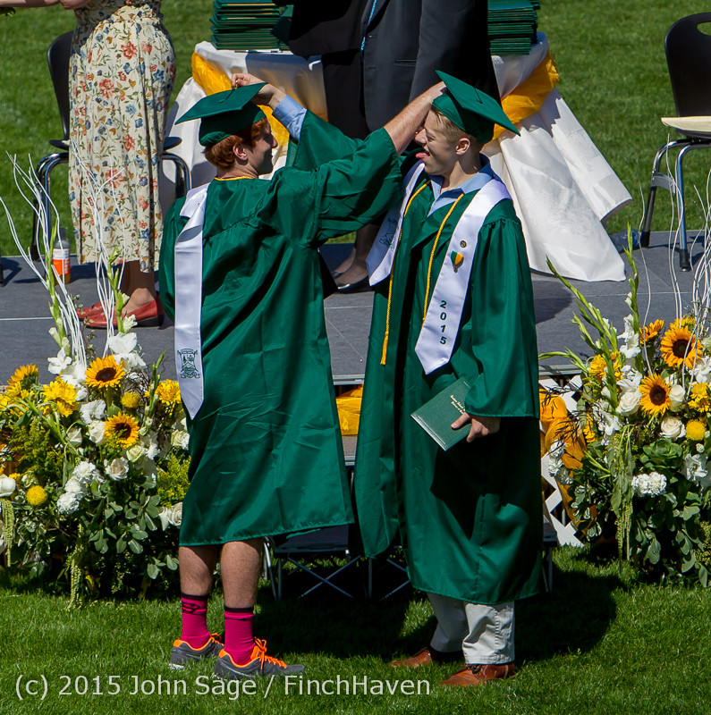 7288 Vashon Island High School Graduation 2015 061315
