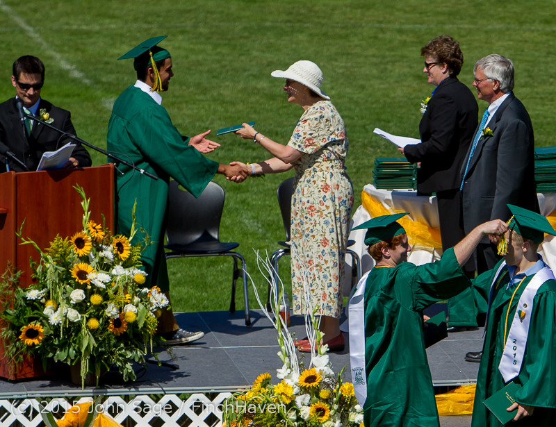 7289 Vashon Island High School Graduation 2015 061315
