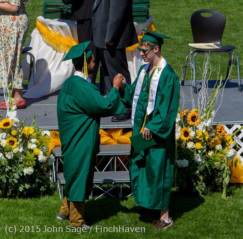 7301 Vashon Island High School Graduation 2015 061315