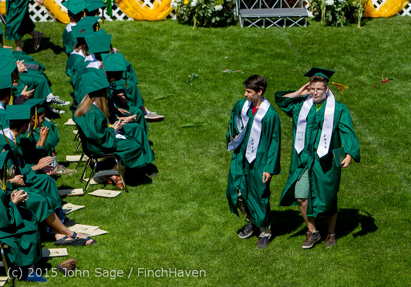 7313 Vashon Island High School Graduation 2015 061315
