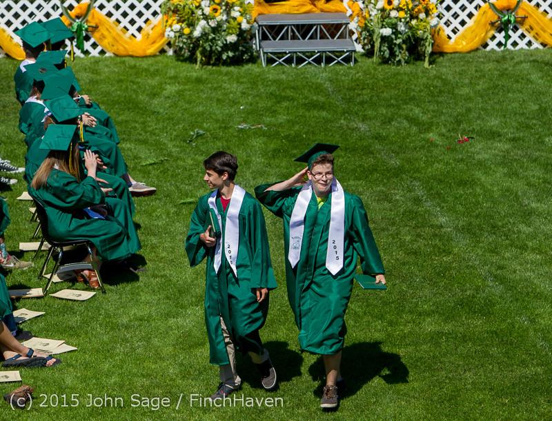 7314 Vashon Island High School Graduation 2015 061315