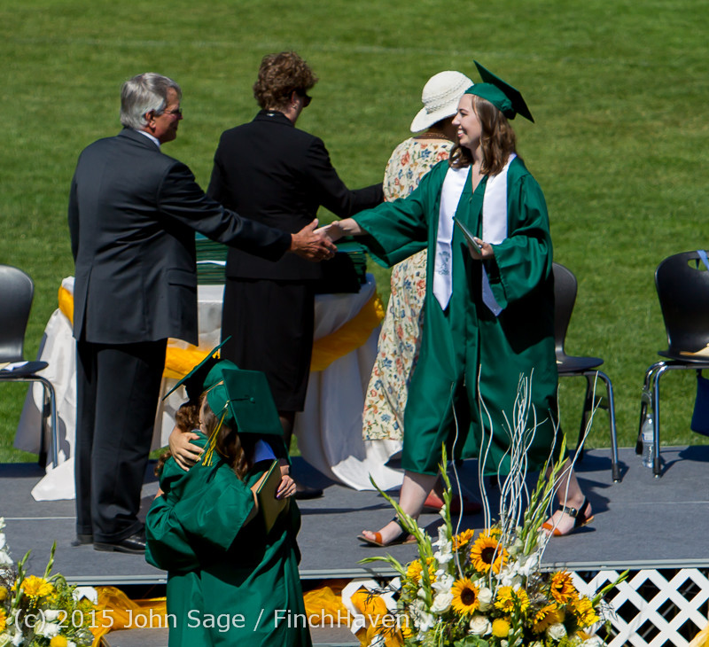 7339 Vashon Island High School Graduation 2015 061315