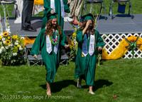 7341 Vashon Island High School Graduation 2015 061315