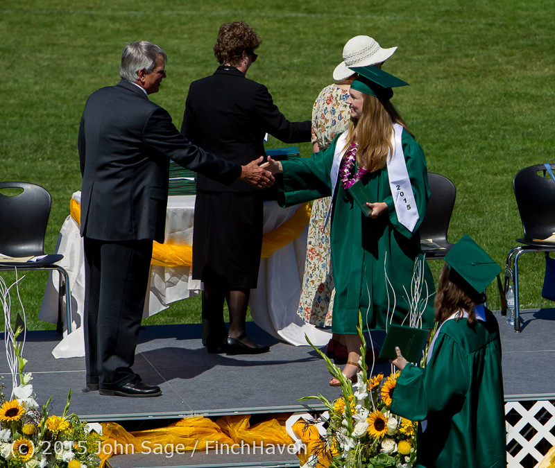 7343 Vashon Island High School Graduation 2015 061315
