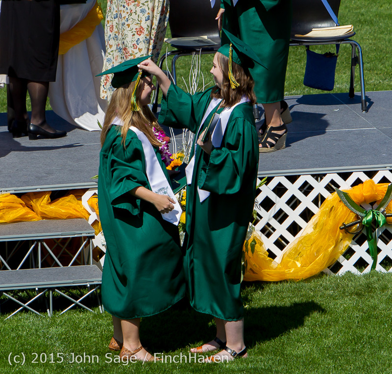 7348 Vashon Island High School Graduation 2015 061315
