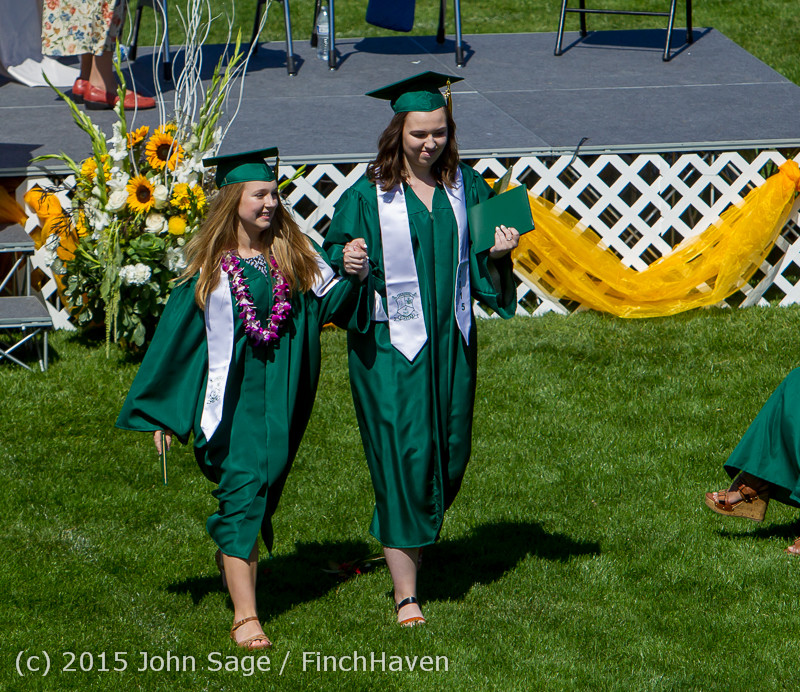 7353 Vashon Island High School Graduation 2015 061315