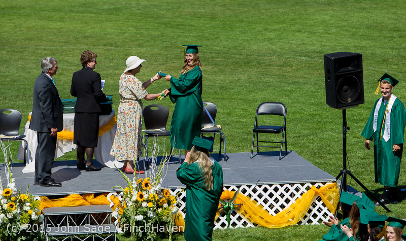 7356 Vashon Island High School Graduation 2015 061315