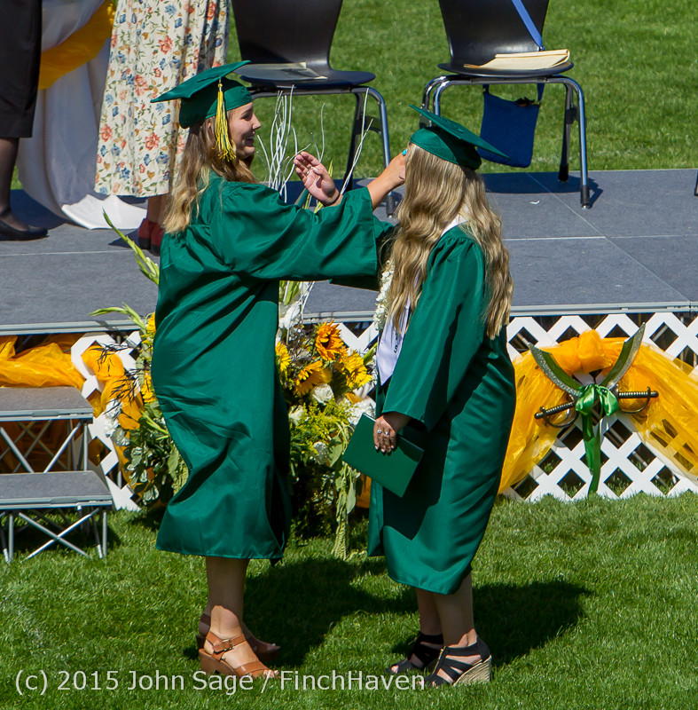 7362 Vashon Island High School Graduation 2015 061315