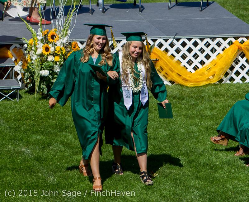 7370 Vashon Island High School Graduation 2015 061315