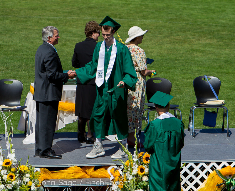7375 Vashon Island High School Graduation 2015 061315
