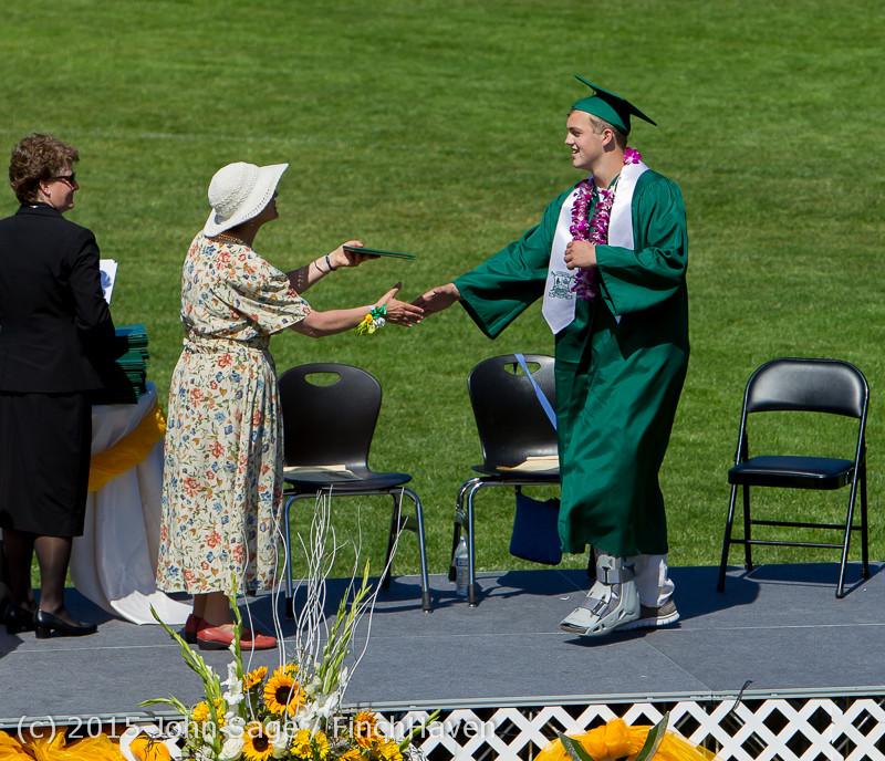 7389 Vashon Island High School Graduation 2015 061315