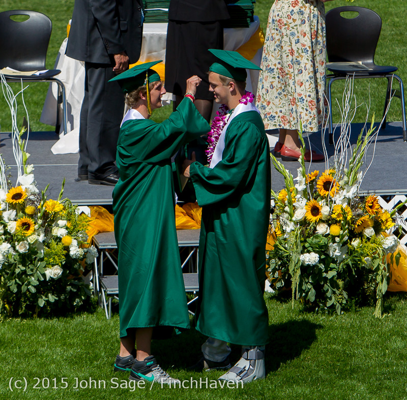 7394 Vashon Island High School Graduation 2015 061315