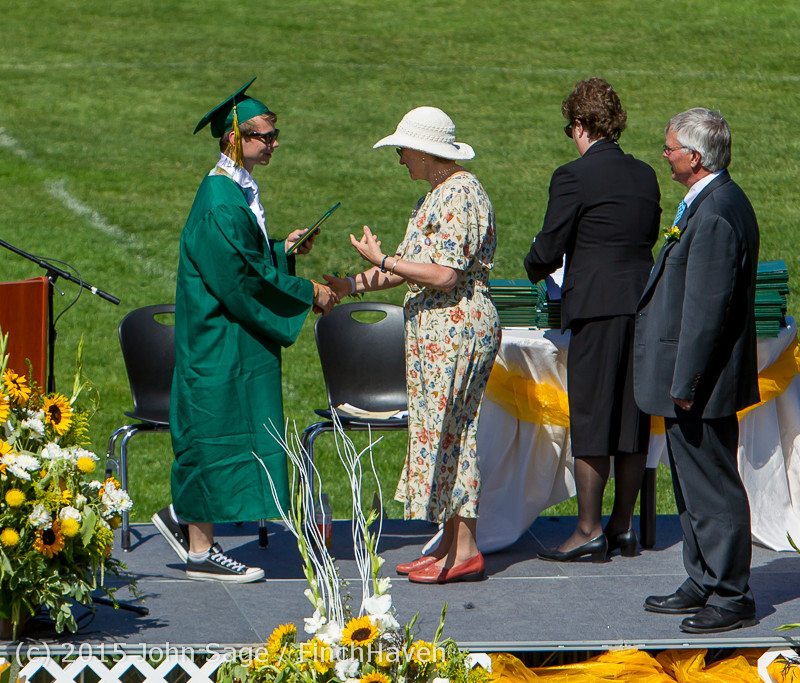 7441 Vashon Island High School Graduation 2015 061315