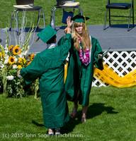 7452 Vashon Island High School Graduation 2015 061315