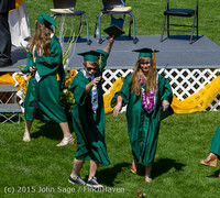 7454 Vashon Island High School Graduation 2015 061315