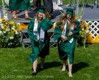 7466 Vashon Island High School Graduation 2015 061315