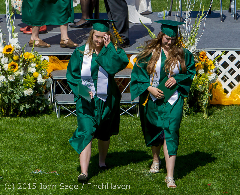 7466 Vashon Island High School Graduation 2015 061315