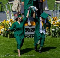 7487 Vashon Island High School Graduation 2015 061315