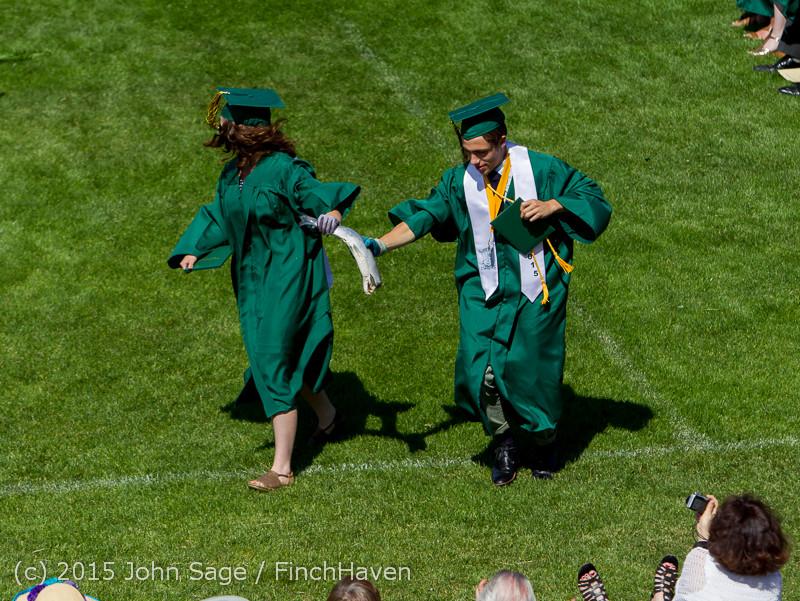 7493 Vashon Island High School Graduation 2015 061315
