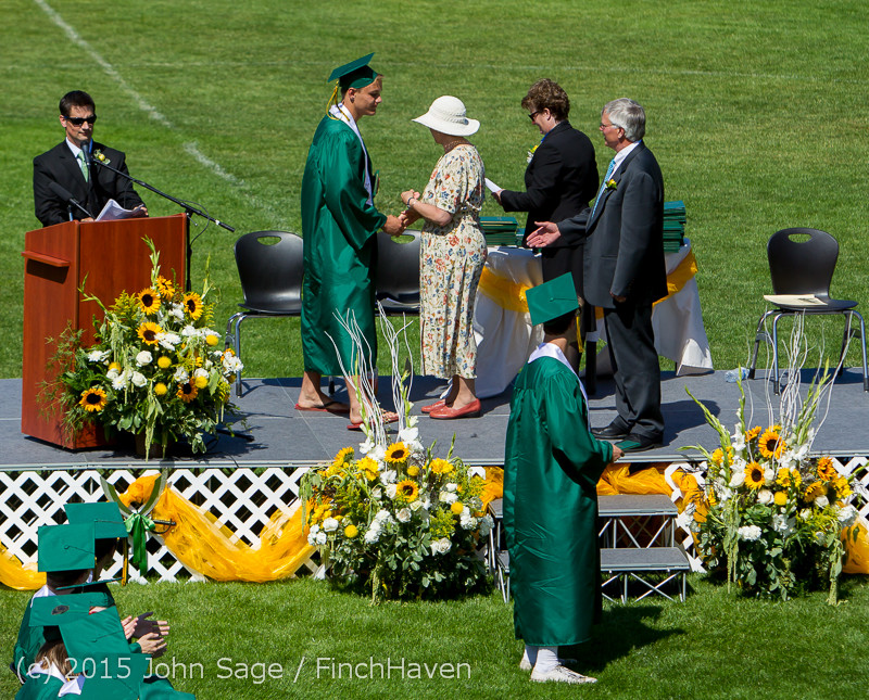 7496 Vashon Island High School Graduation 2015 061315