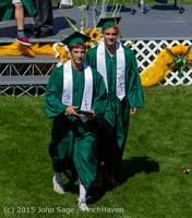 7506 Vashon Island High School Graduation 2015 061315