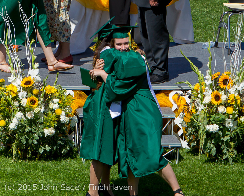7533 Vashon Island High School Graduation 2015 061315
