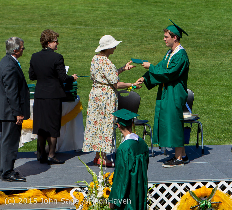 7544 Vashon Island High School Graduation 2015 061315
