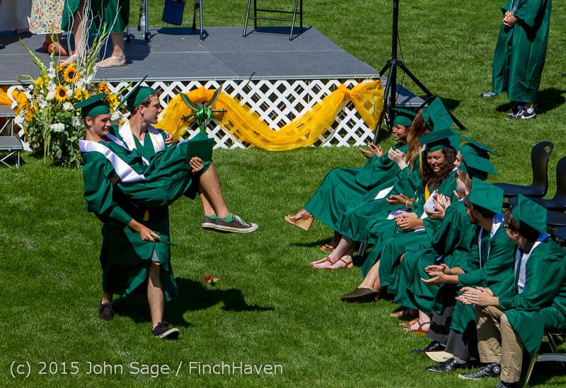7557 Vashon Island High School Graduation 2015 061315