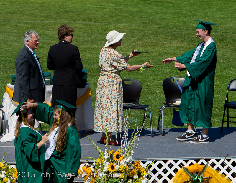 7564 Vashon Island High School Graduation 2015 061315