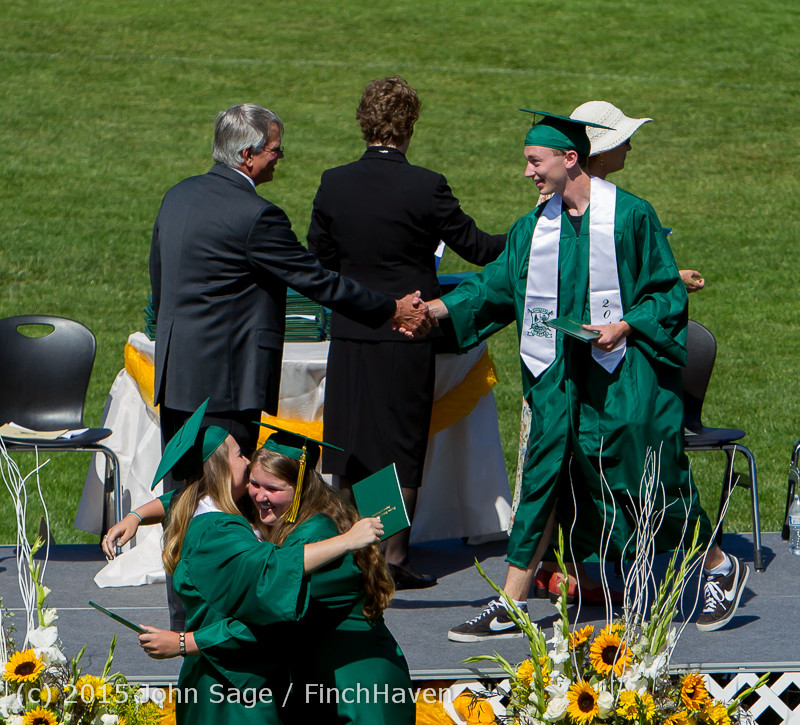 7566 Vashon Island High School Graduation 2015 061315