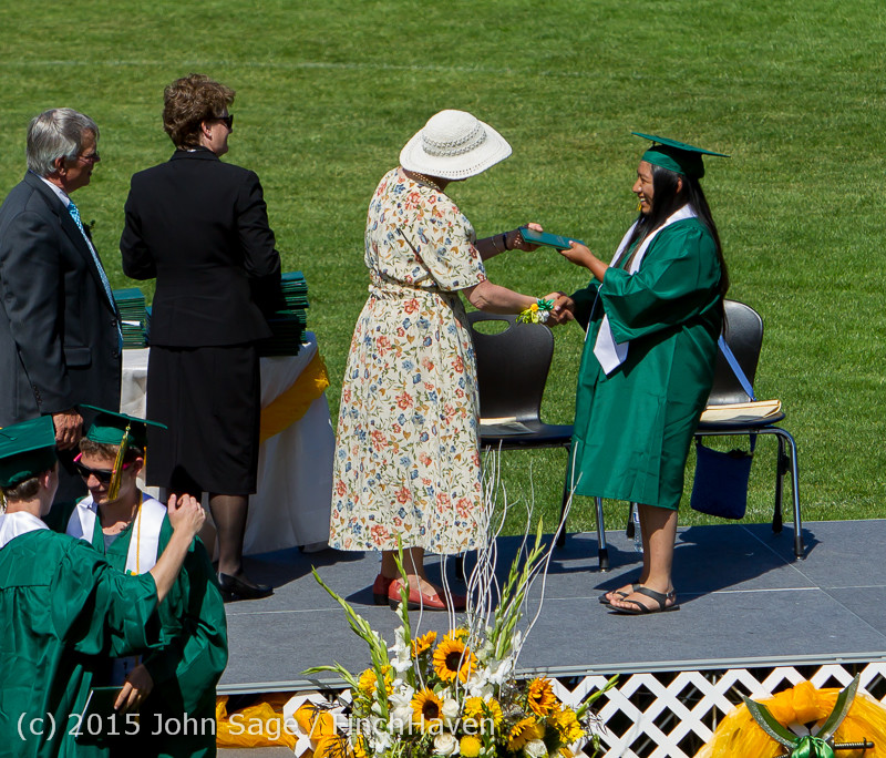 7576 Vashon Island High School Graduation 2015 061315