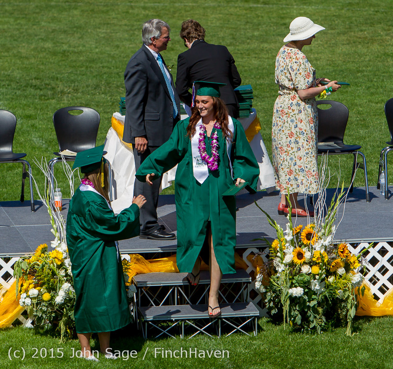 7595 Vashon Island High School Graduation 2015 061315
