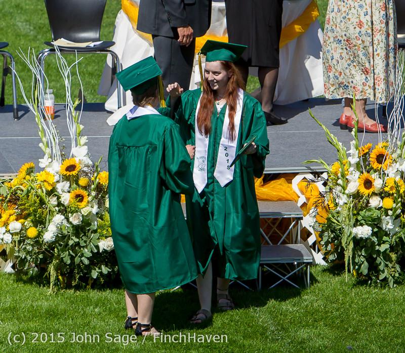 7612 Vashon Island High School Graduation 2015 061315