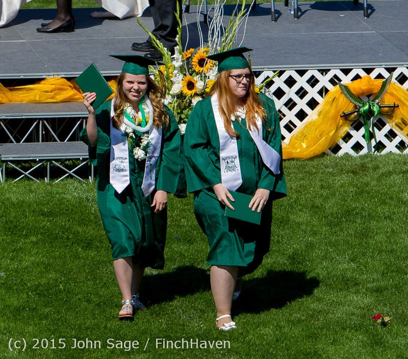 7630 Vashon Island High School Graduation 2015 061315