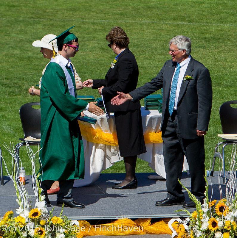 7633 Vashon Island High School Graduation 2015 061315