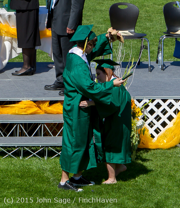 7662 Vashon Island High School Graduation 2015 061315