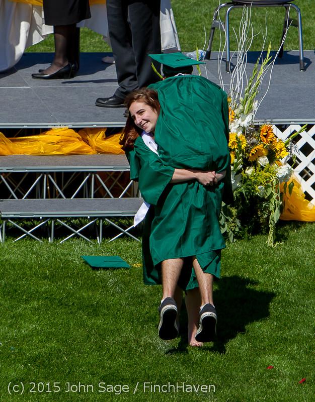 7668 Vashon Island High School Graduation 2015 061315