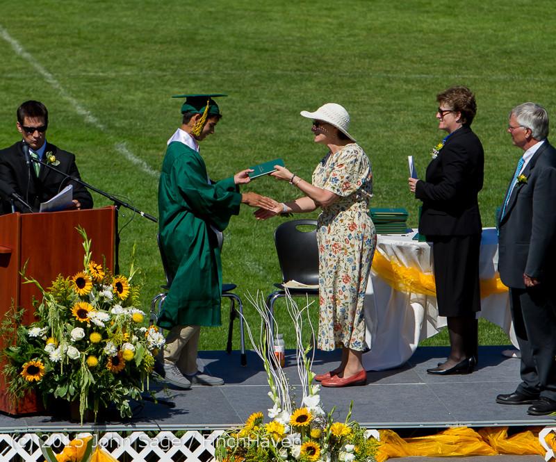 7691 Vashon Island High School Graduation 2015 061315