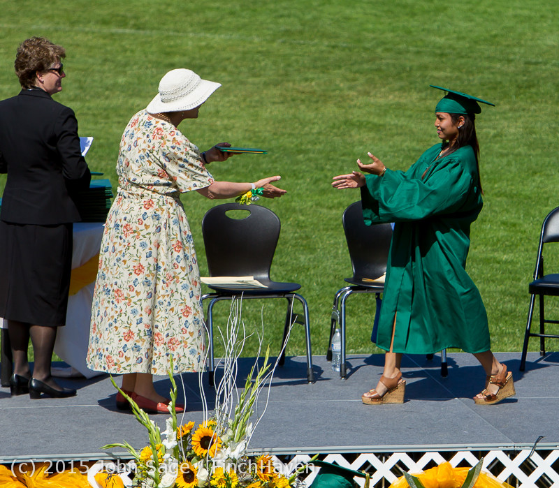 7720 Vashon Island High School Graduation 2015 061315