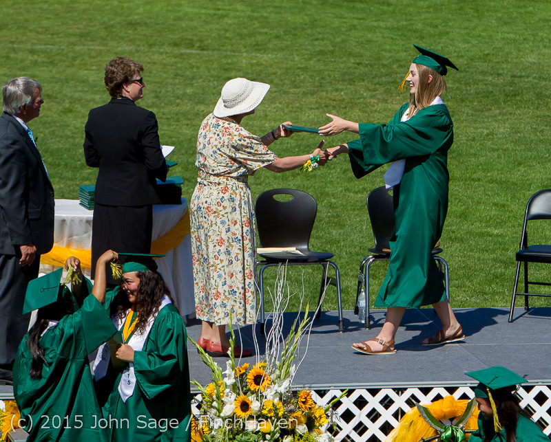 7750 Vashon Island High School Graduation 2015 061315