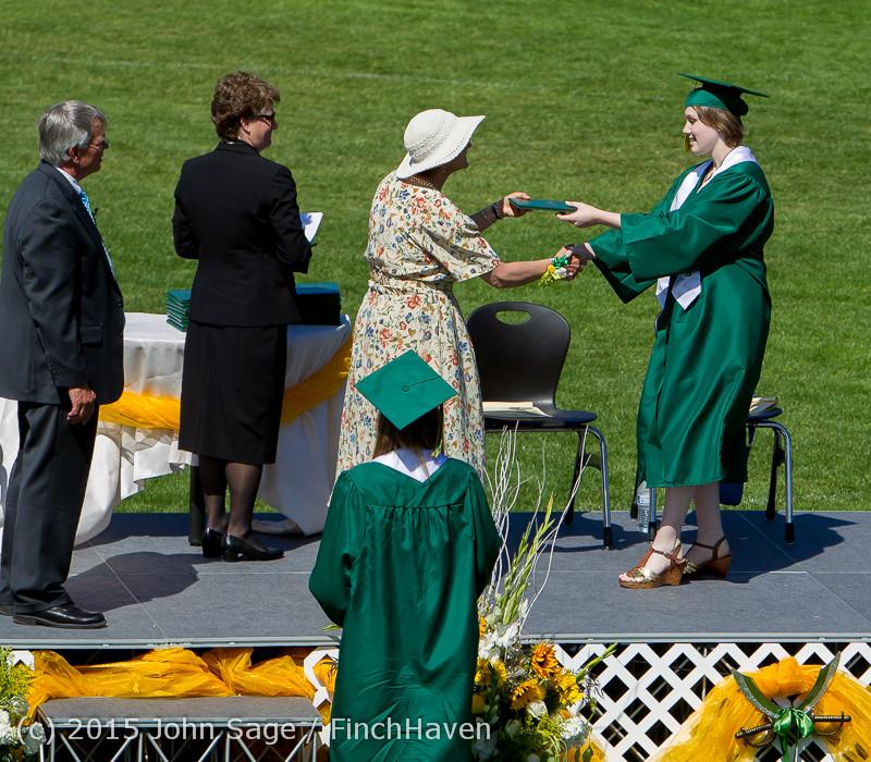 7757 Vashon Island High School Graduation 2015 061315