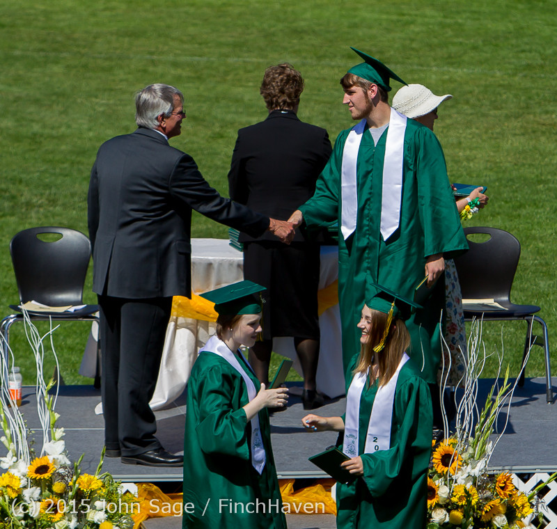 7765 Vashon Island High School Graduation 2015 061315