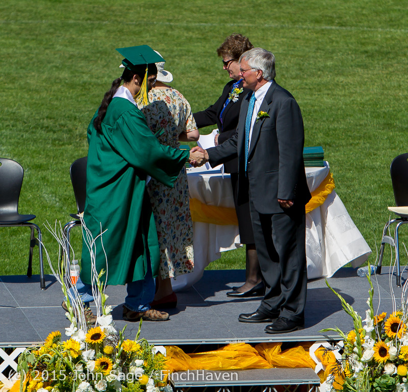 7772 Vashon Island High School Graduation 2015 061315