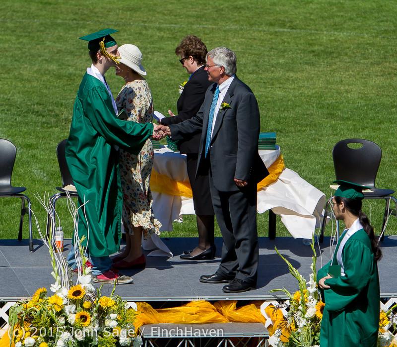 7778 Vashon Island High School Graduation 2015 061315
