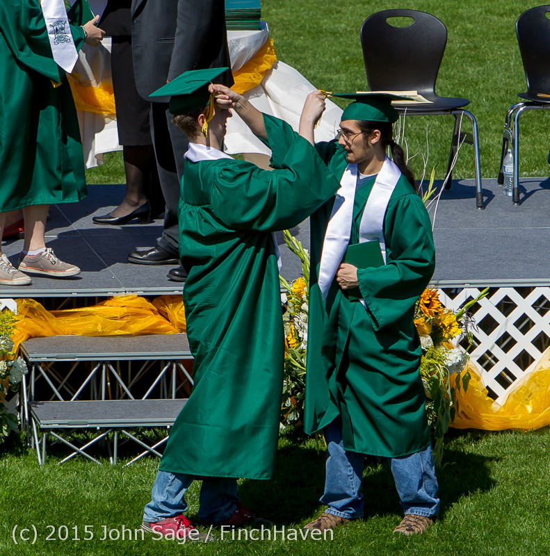 7784 Vashon Island High School Graduation 2015 061315