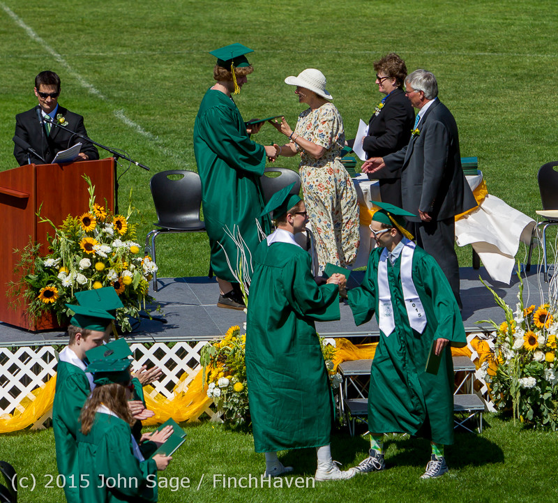 7803 Vashon Island High School Graduation 2015 061315