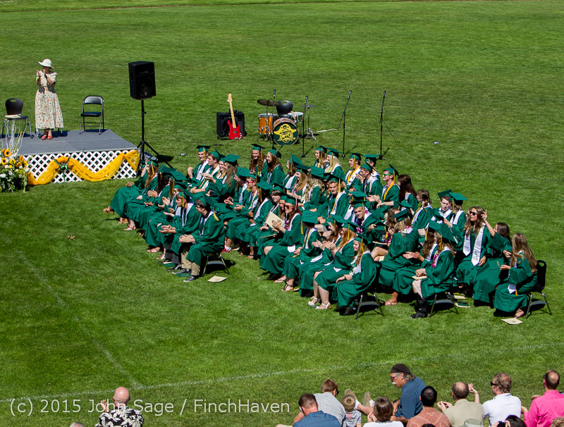 7822 Vashon Island High School Graduation 2015 061315