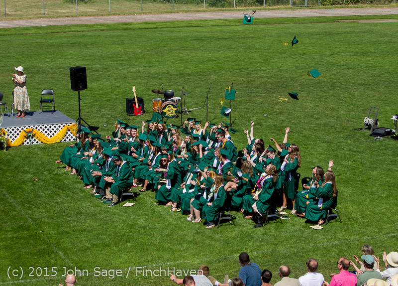 7826 Vashon Island High School Graduation 2015 061315
