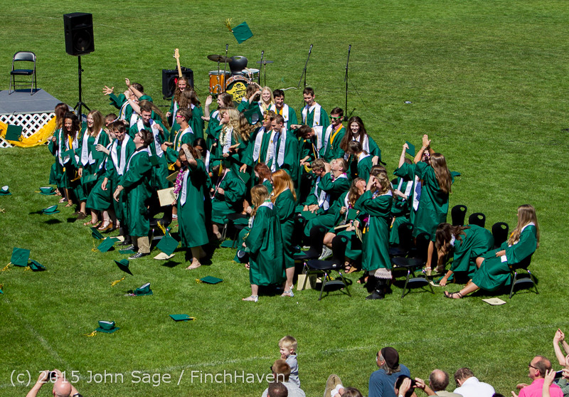 7854 Vashon Island High School Graduation 2015 061315
